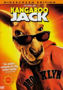 Kangaroo Jack 2003 DVD Cover