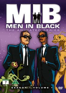 Men in Black The Series 1997 DVD Cover