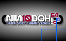Nin10Doh! To the Sixty-Fourth Power 2010 Title Card