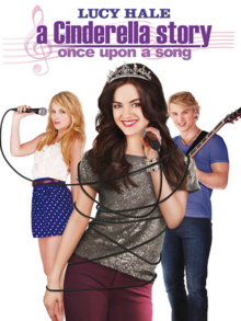 A Cinderella Story Once Upon a Song 2011 DVD Cover