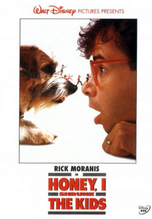 Honey, I Shrunk the Kids 1989 DVD Cover