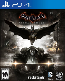 Batman Arkham Knight 2015 Game Cover