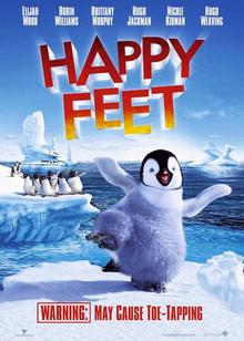 Happy Feet 2006 DVD Cover