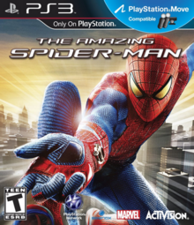 The Amazing Spider-Man 2012 Game Cover