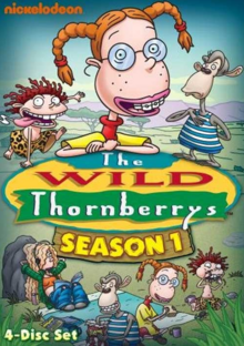 The Wild Thornberrys 1998 DVD Cover