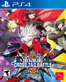 BlazBlue Cross Tag Battle 2018 Game Cover
