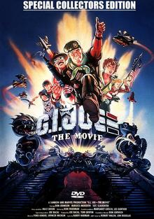 G.I. Joe The Movie 1987 DVD Cover