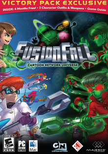 Cartoon Network Universe FusionFall 2009 Game Cover
