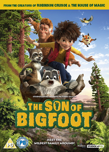The Son of Bigfoot 2017 DVD Cover