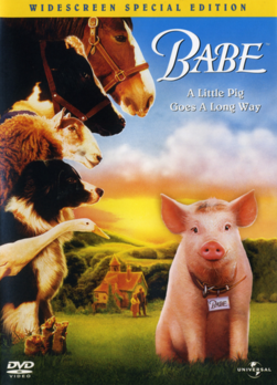 Babe 1995 DVD Cover