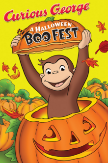 Curious George A Halloween Boo Fest 2013 DVD Cover