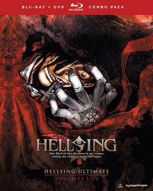 Hellsing Ultimate 2006 Blu-Ray DVD Cover