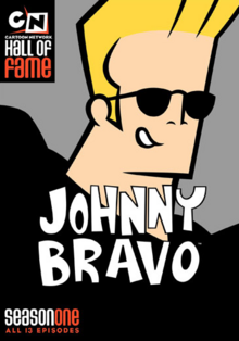Johnny Bravo 1997 DVD Cover