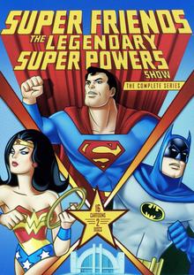 Super Friends The Legendary Super Powers Show 1984 DVD Cover