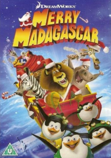 DreamWorks Merry Madagascar 2009 DVD Cover