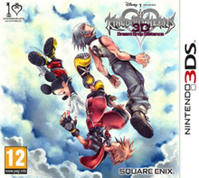 Kingdom Hearts 3D Dream Drop Distance 2012 Game Cover