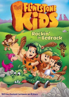 The Flintstone Kids 1986 DVD Cover