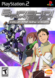 Eureka Seven vol.2 The New Vision 2007 Game Cover