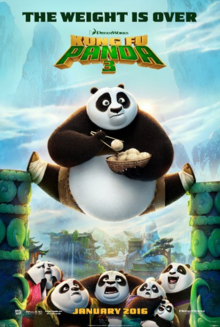Kung Fu Panda 3 2016 Poster