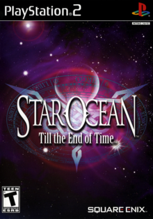 Star Ocean Till the End of Time 2004 Game Cover