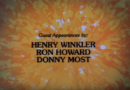 The Fonz and the Happy Days Gang 1981 Credits 1