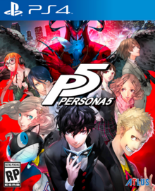 Persona 5 2017 Game Cover