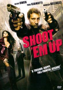Shoot 'Em Up 2007 DVD Cover