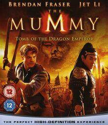 The Mummy Tomb of the Dragon Emperor 2008 DVD Cover