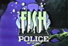 Fish Police 1992 Title Card