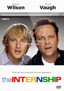 The Internship 2013 DVD Cover