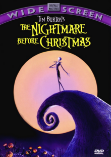 Tim Burton's The Nightmare Before Christmas 1993 DVD Cover