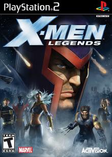 X-Men Legends 2004 Game Cover
