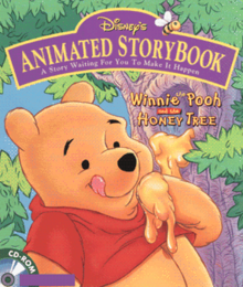 Disney's Animated Storybook Winnie the Pooh and the Honey Tree 1995 Game Cover