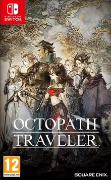 Octopath Traveler 2018 Game Cover