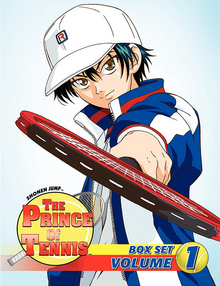 The Prince of Tennis 2007 DVD Cover