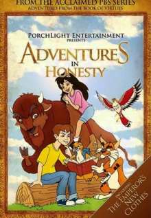 Adventures from the Book of Virtues 1996 DVD Cover
