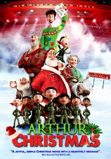 arthur christmas 2011 dvd cover - Cast Of Arthur Christmas