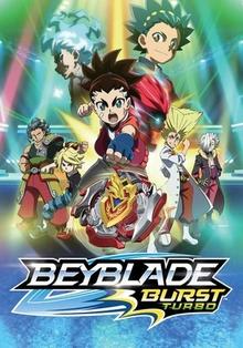 Beyblade Burst Turbo 2018 Poster