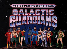 The Super Powers Team Galactic Guardians 1985 Title Card