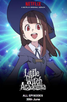Little Witch Academia 2017 Poster