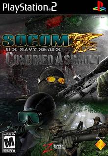 SOCOM U.S. Navy SEALs Combined Assault 2006 Game Cover