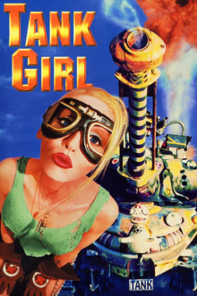 Tank Girl 1995 DVD Cover