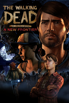 The Walking Dead The Telltale Series A New Frontier 2016 Game Cover