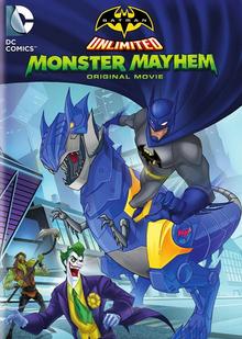Batman Unlimited Monster Mayhem 2015 BLU-RAY+DVD+Digital HD Cover