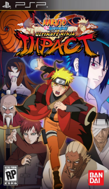 Naruto Shippuden Ultimate Ninja Impact 2011 Game Cover