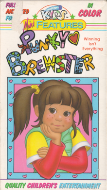Punky Brewster 1985 VHS Cover