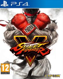 Street Fighter V 2016 Game Cover