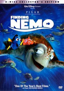 Finding Nemo 2003 DVD Cover