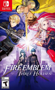 Fire Emblem Three Houses 2019 Game Cover