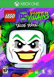 Lego DC Super-Villains 2018 Game Cover